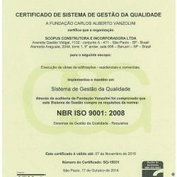 NBR ISO 9001- 2008
